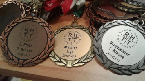 Meister Medaillen