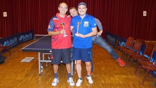 Doppel 3. Platz - Gerhard und Dominik