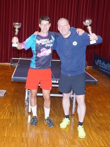 Sieger Doppel - Gerhard und Wolfgang